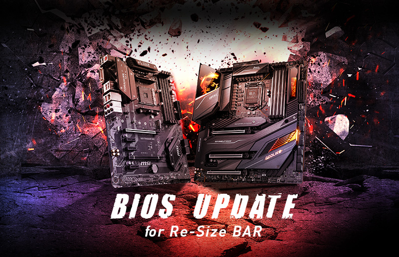 MSI Prepares to Release BIOS Update for Intel 400-Series Motherboards to Support Re-Size BAR