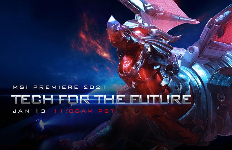 Poznejte s námi nové produkty na akci MSI Premiere 2021: Tech For The Future