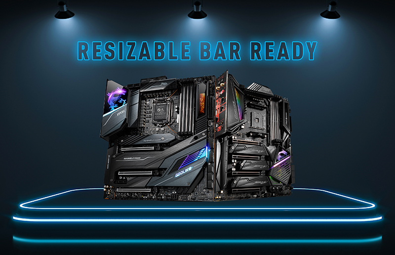 MSI Is Ready To Support Resizable BAR (Re-Size BAR) For NVIDIA GeForce RTX 30 Series GPUs