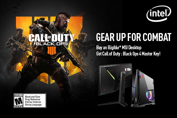 SPB Call of Duty: Black Ops 4 landing page