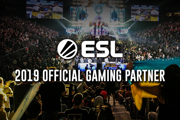The Official Gaming Partner of ESL