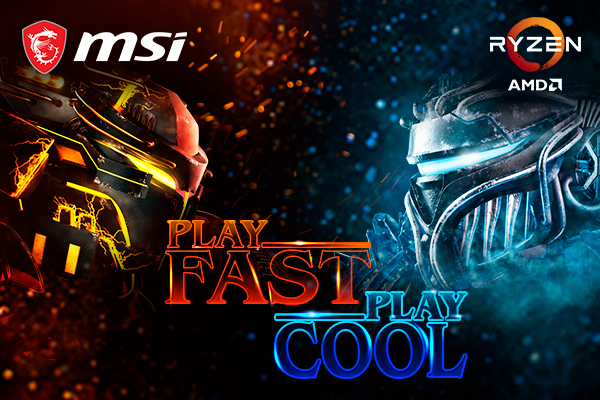 Play Fast & Play Cool Campaign | X570 GAMING Motherboards | MSI
