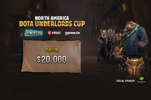 North America Dota Underlords Cup 2019