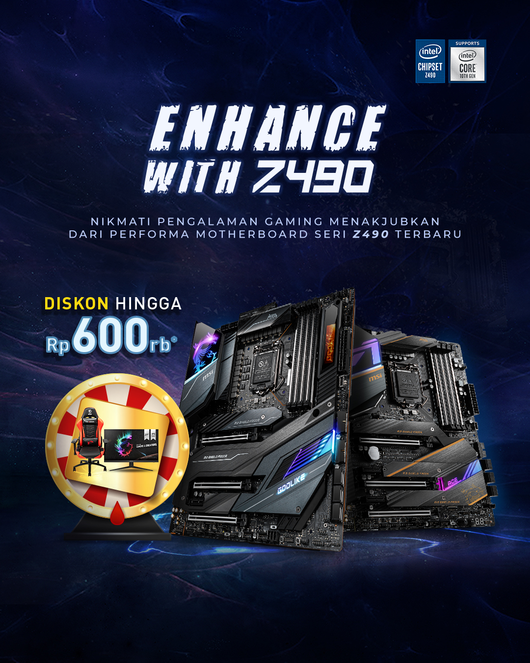 Enhance with Z490