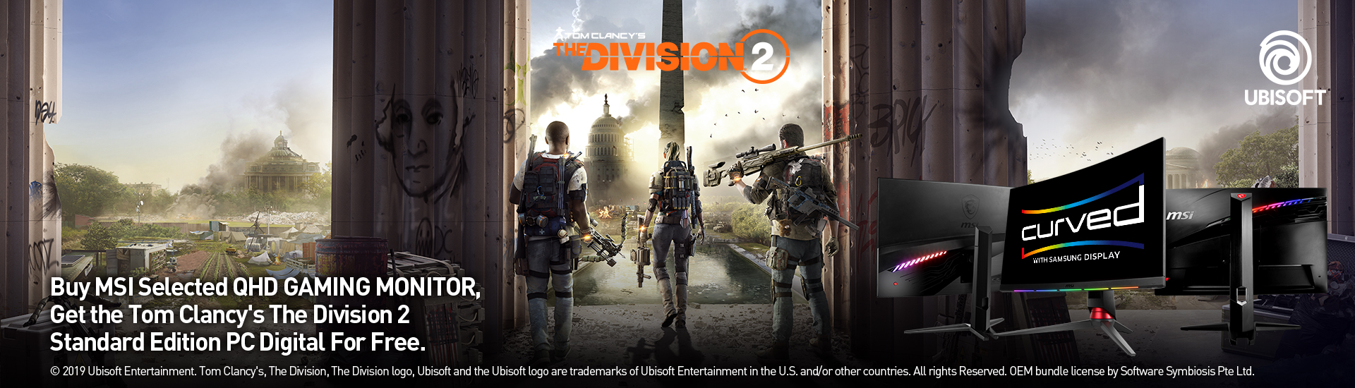 Tom Clancy's The Division 2 promotion