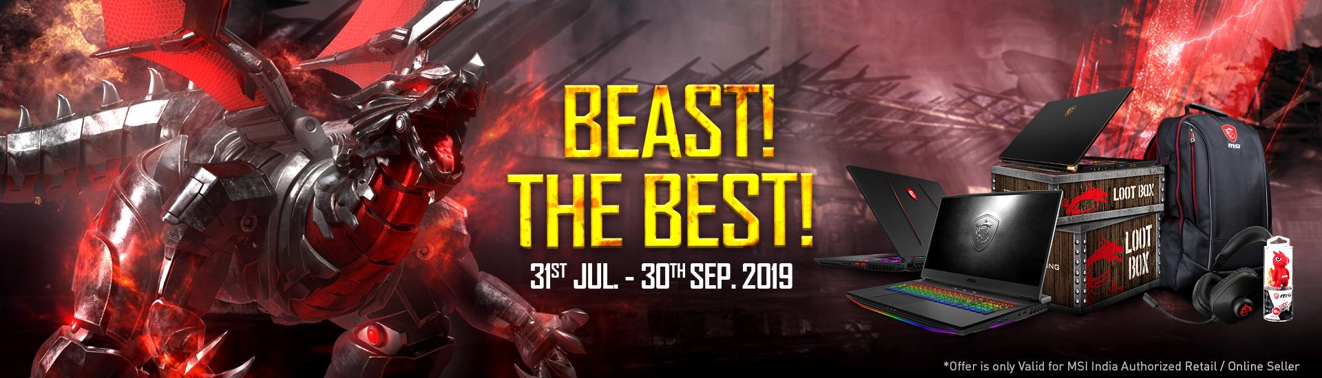 Beast! The Best!
