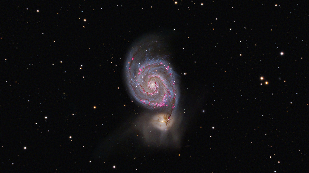 Galassia M51