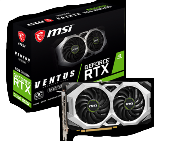RTX 2060 SUPER VENTUS GP OC