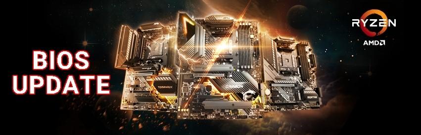 AMD COMBO PI BIOSがアップデートされ、 AMD 500シリーズのマザーボードが将来リリース予定のプロセッサに対応