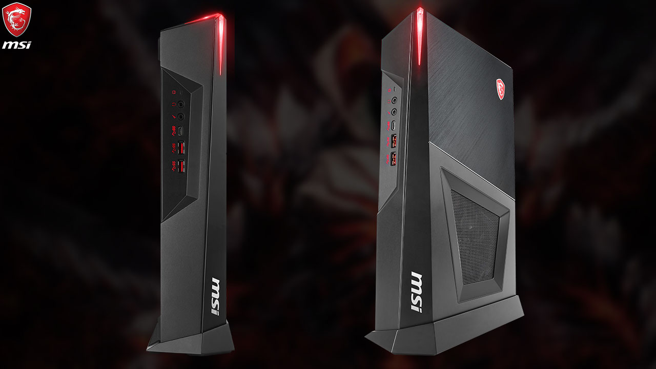 縦・横置き対応コンパクトデザインのフルHD対応モデル グラフィックスボードGeForce® GTX 1660 SUPER™搭載 ゲーミングデスクトップPCブランド「Trident 3」より新モデル発売