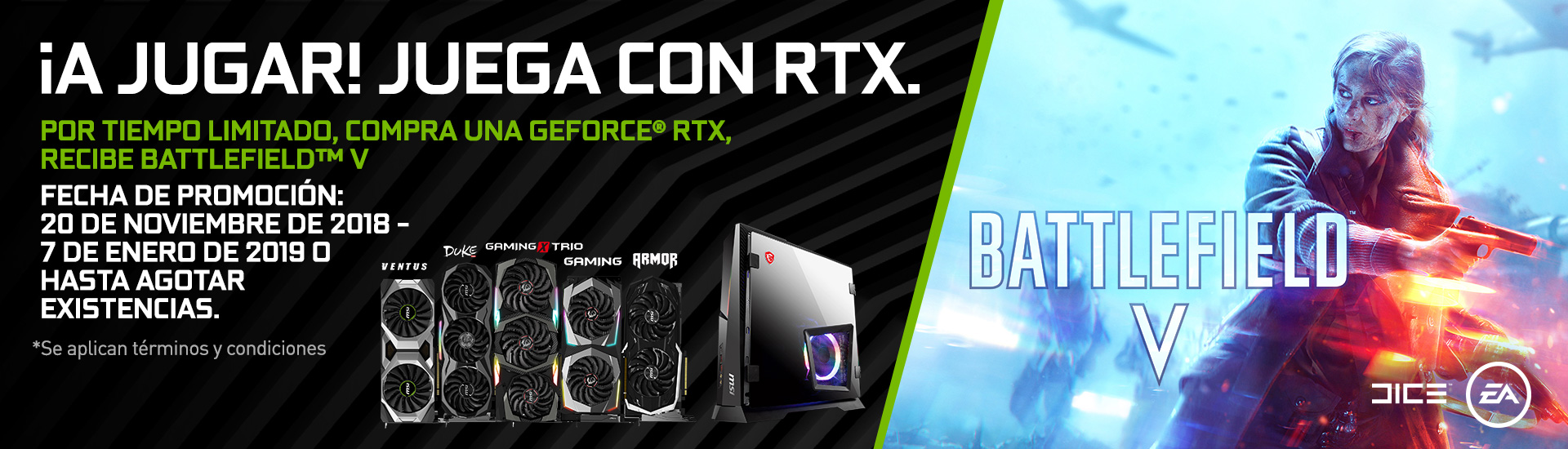 Game on - Game RTX