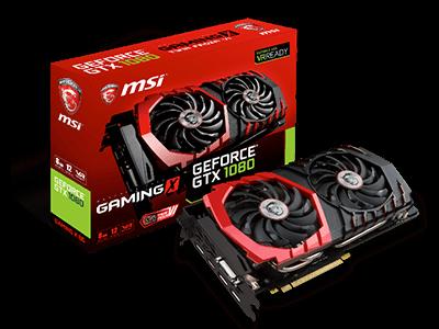 MSI revela las nuevas tarjetas gráficas GeForce® GTX 1080