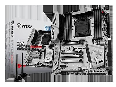 MSI PRESENTA LA GTX 1080 CON SLI DE 4 VÍAS: SE LLEVA LA CORONA 3DMARK CROWN<br> X99A XPOWER GAMING TITANIUM y GeForce GTX 1080 GAMING X 8G demuestran su capacidad