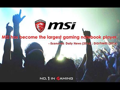 Sin duda alguna, MSI domina el Mundo de las Notebooks Gaming y aventaja a la competencia