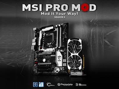 Competencia MSI PRO MOD Season 3 Abierta Ahora<br>Hazlo a tu manera: ¡Todo en Blanco y Negro!
