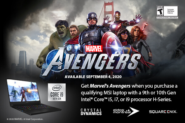Marvels Avengers game bundle