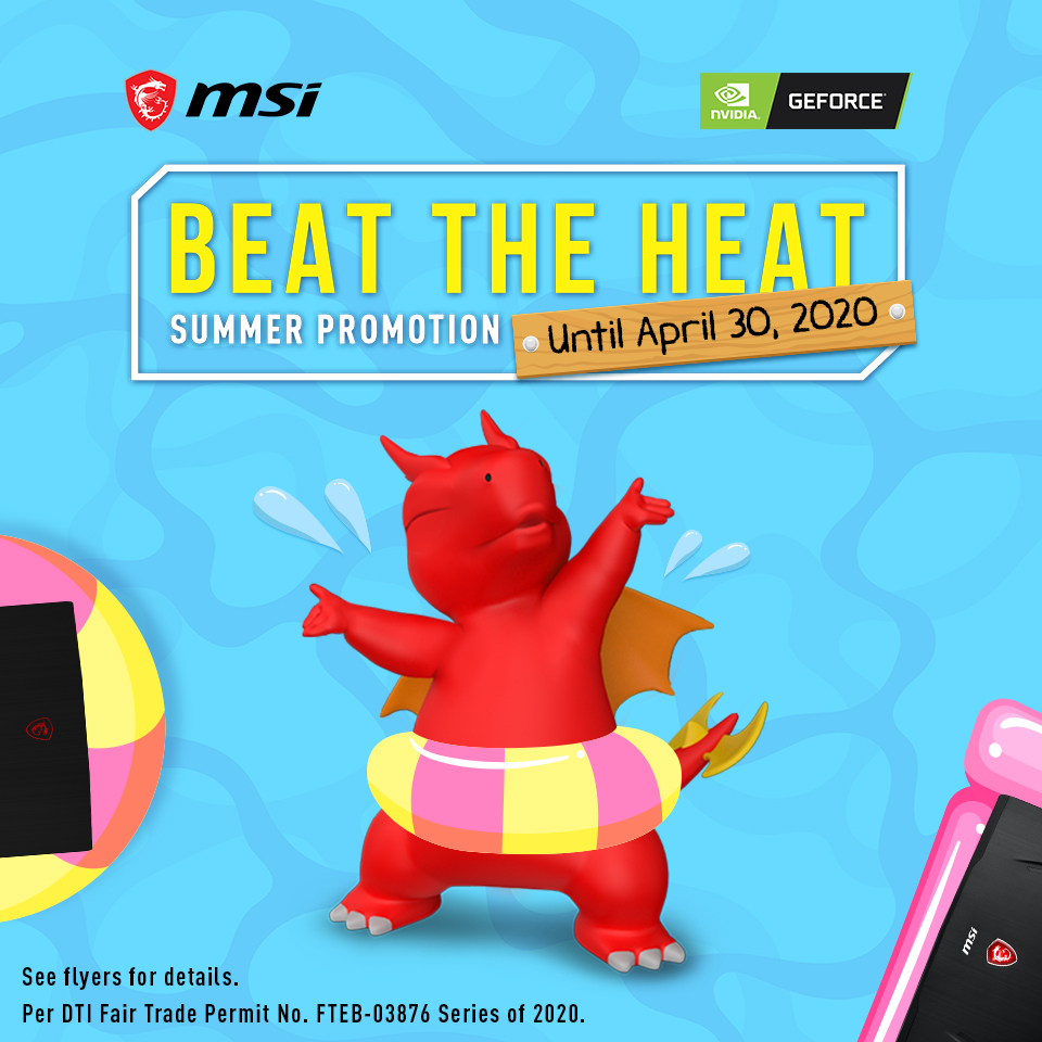 MSI Beat The Heat 2020 Offers 20% Discounts for their Gaming Laptops!
