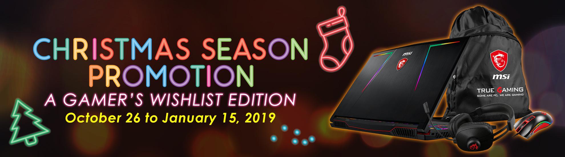 2018 NB Christmas Promotion
