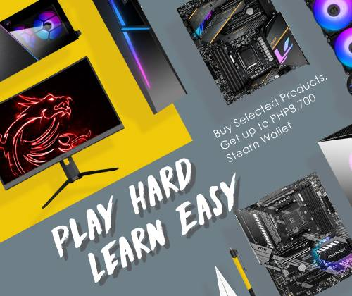 MSI recommends the best buying guide  in Play Hard Learn Easy promotion 2020