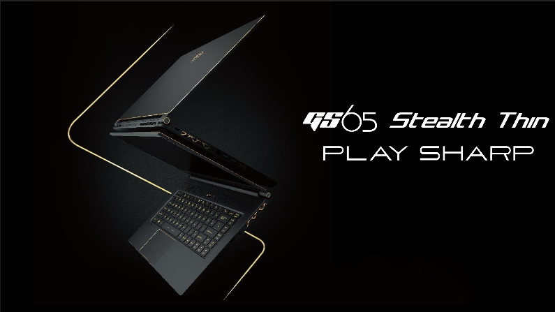 MSI GS65 8RF Stealth Thin - Video Unboxing