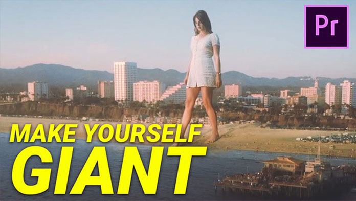 Make YOURSELF GIANT With VIDEO EDITING (Premiere Pro)