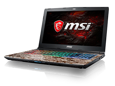 The Gaming Laptop that Camouflages? MSI Launches the First <br>Military-Themed laptop, the Camo Squad Limited Edition GE62VR