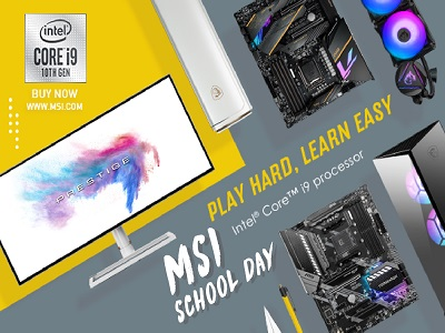 MSI recommends the best buying guide in MSI School Day 2020