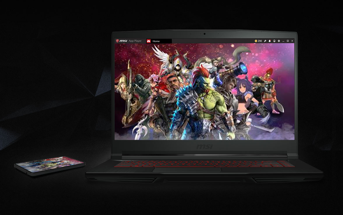 MSI-APP-PLAYER GF63