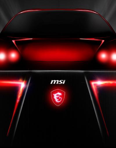 全新GE高效能電競筆電 超跑外型酷炫登場