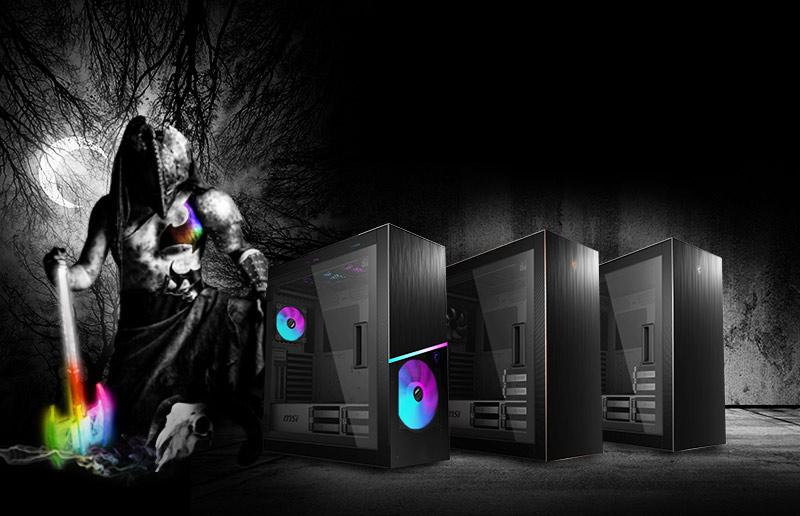 就讓全新 MPG SEKIRA 500 系列來升級你的下一個 PC 機殼