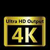 4K UHD Support