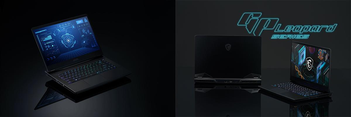 GP66 Leopard黑魂低調質感外觀中蘊藏著絕不妥協的強悍效能