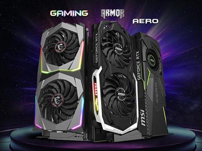 MSI GeForce® RTX 2070系列顯卡正式上市 微星龍粉首購雙禮回饋送
