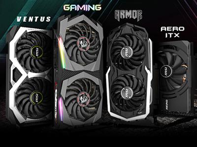 微星發表GeForce GTX 1660 Ti系列顯示卡全新陣容