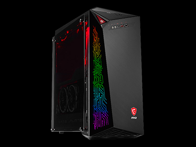 MSI INFINITE X - world's first gaming desktop with Intel's 8th generation processor