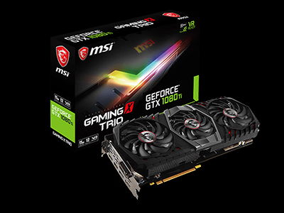 MSI announces GeForce® GTX 1080 Ti GAMING X TRIO, enjoy blazing gameplay!
