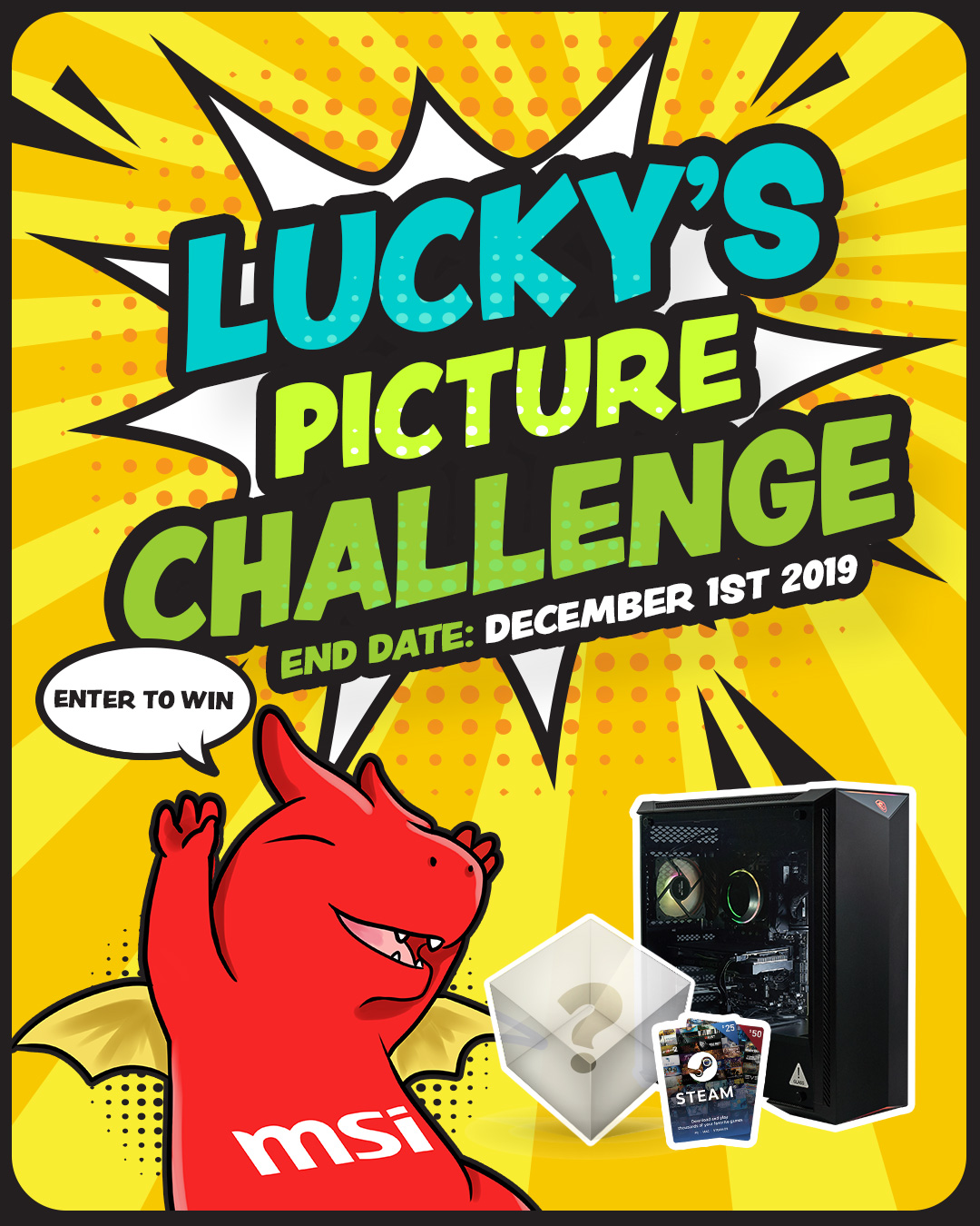 Lucky's Picture Challenge