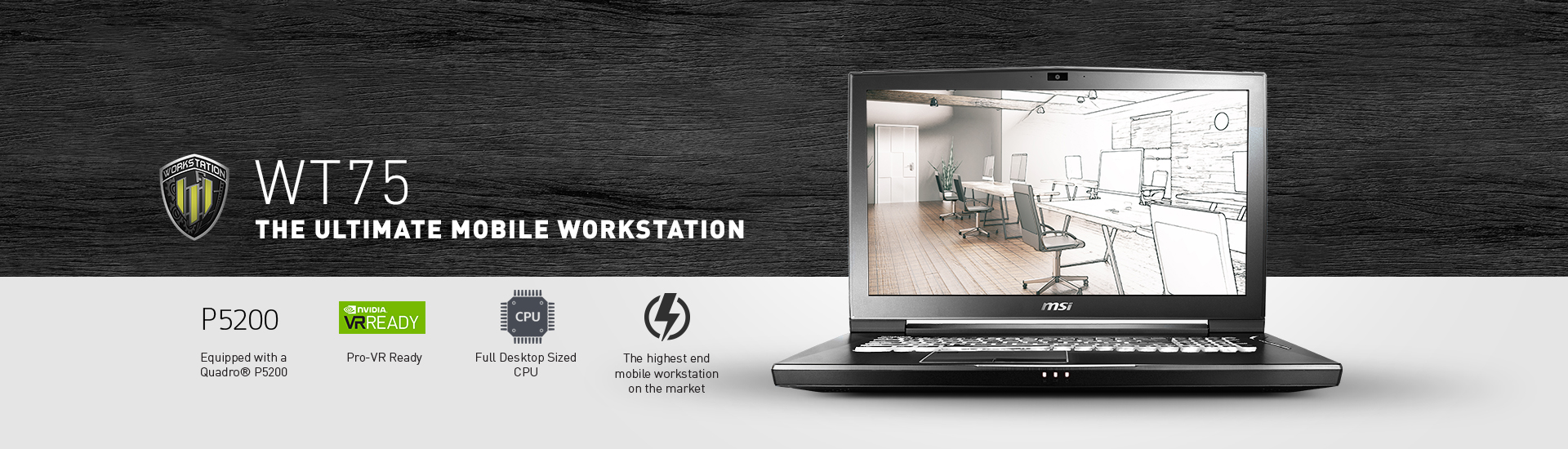Workstation WT75 - CFL