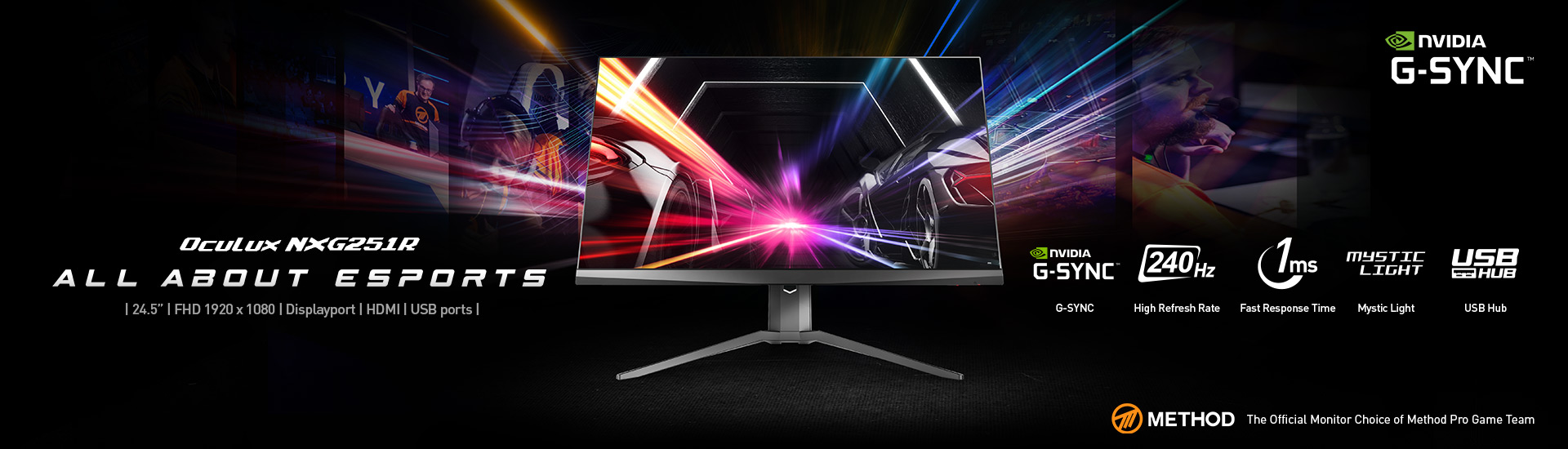Oculux Gaming Monitor