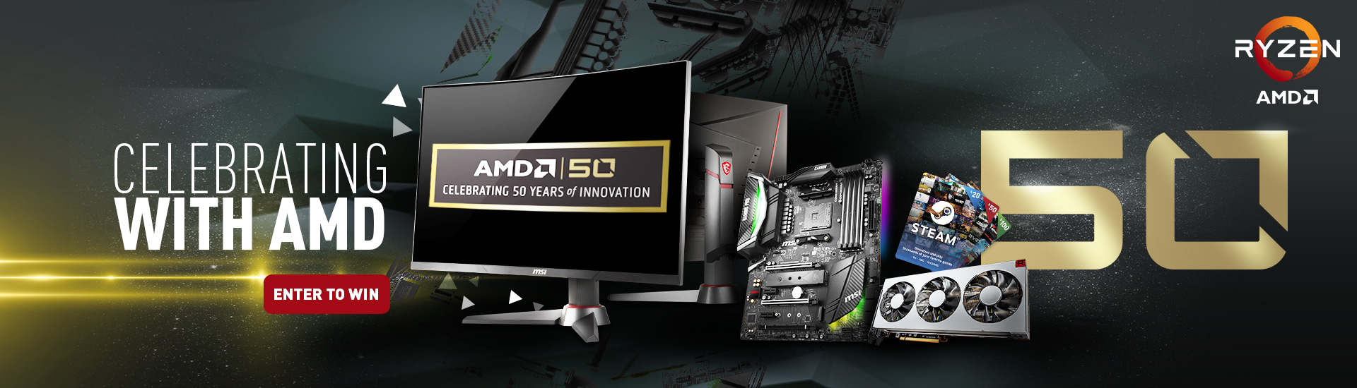 AMD Social Media Giveaway