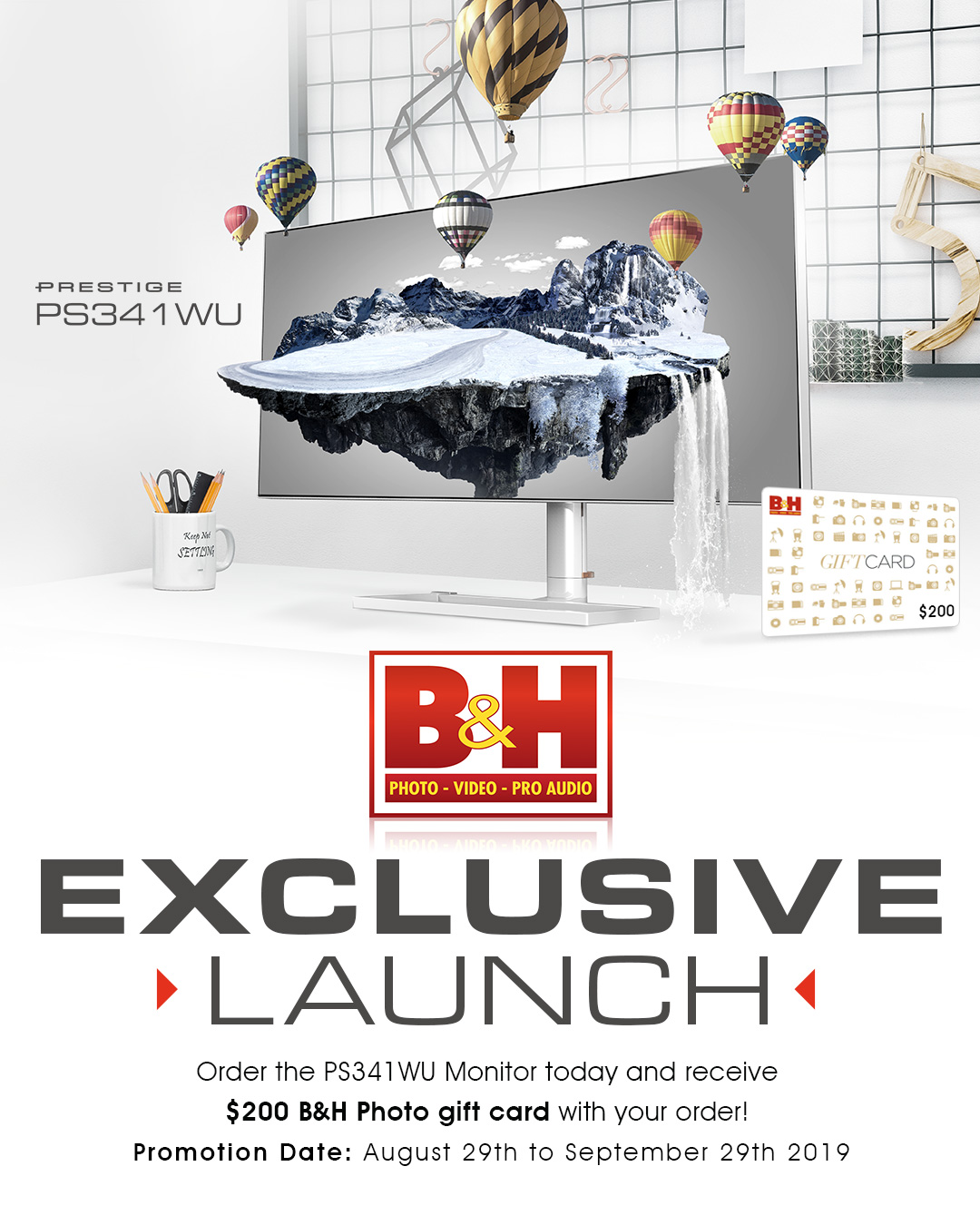 PS341WU Exclusive Launch