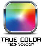 True Color Technology Icon