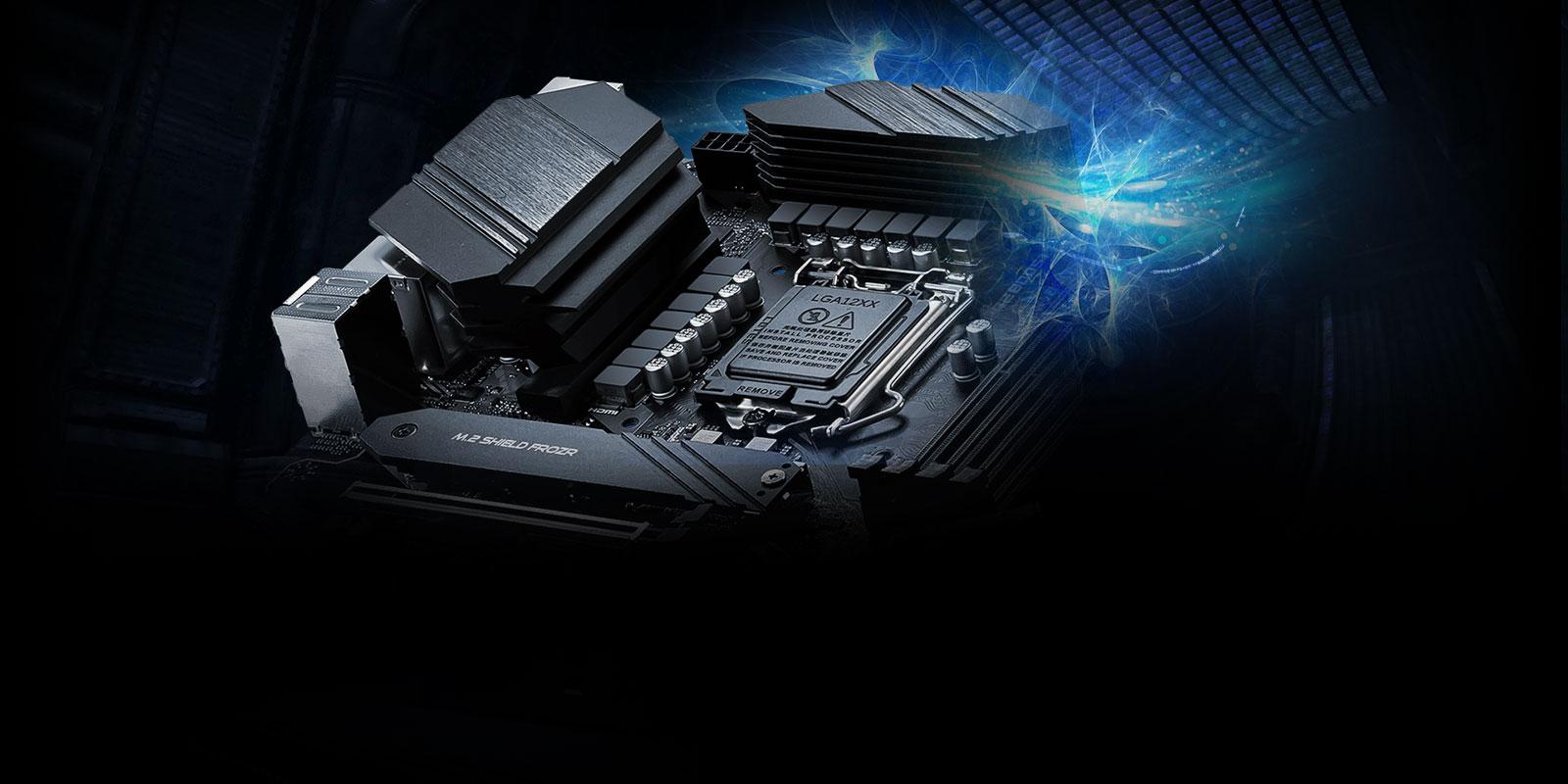 Aegis RS MSI Z490 Motherboard.