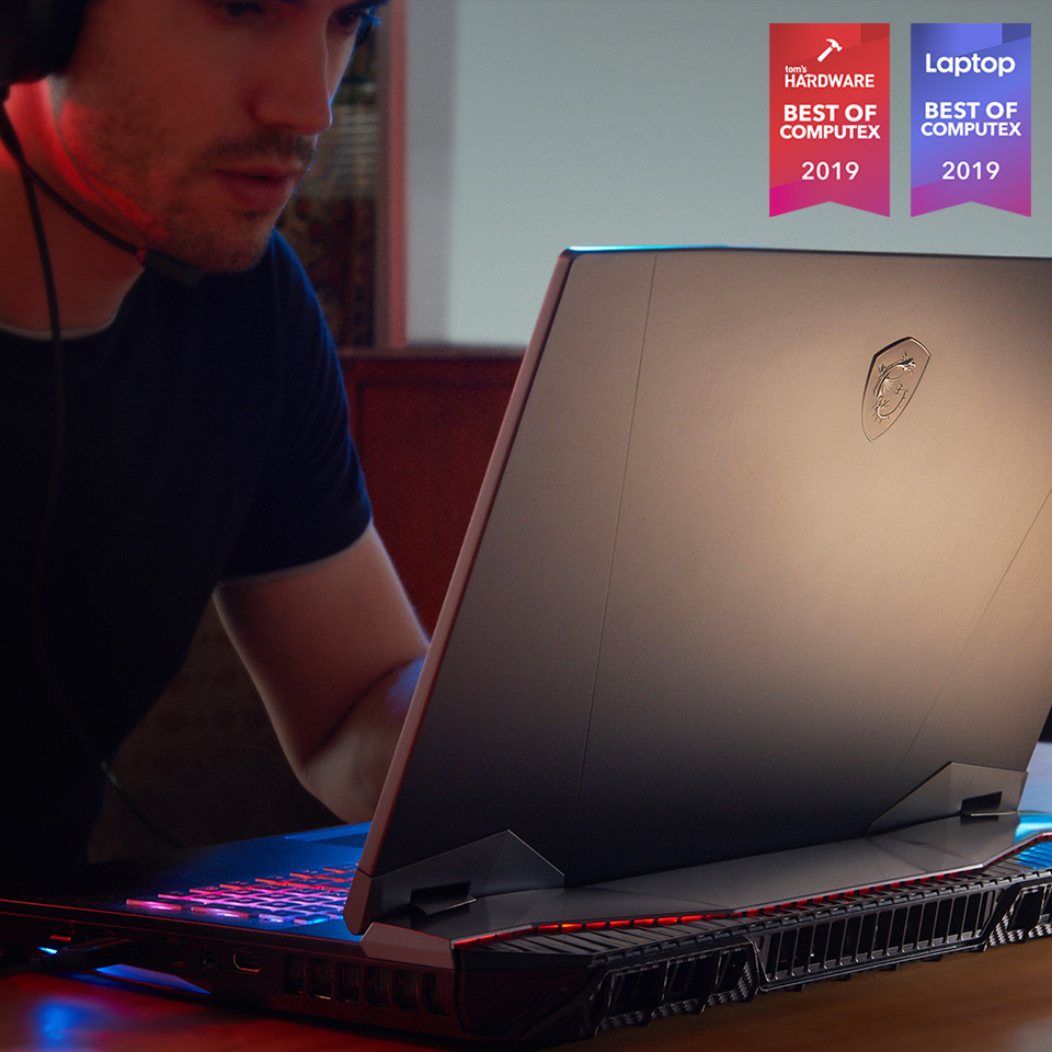 GT76: Tom's Hardware Best of Computex 2019. Laptop Mag Best of Computex 2019.