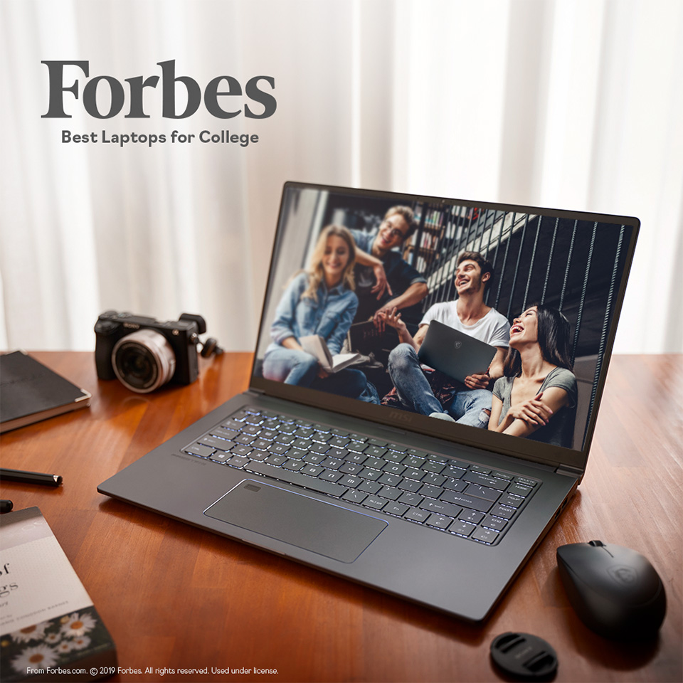PS63 Modern - Forbes Best Laptops for College. From Forbes.com. 2019 Forbes. All rights reserved. Used under license.