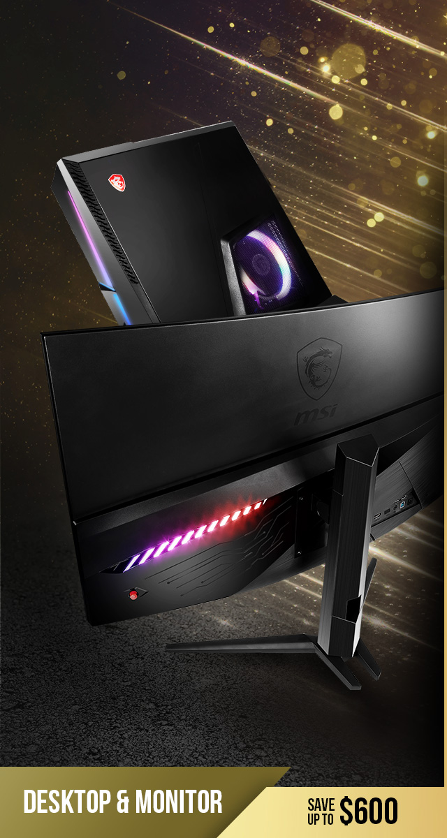 See up to $350 off Desktops & Monitors