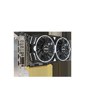 Radeon RX 580 ARMOR 8G OC Graphics Card