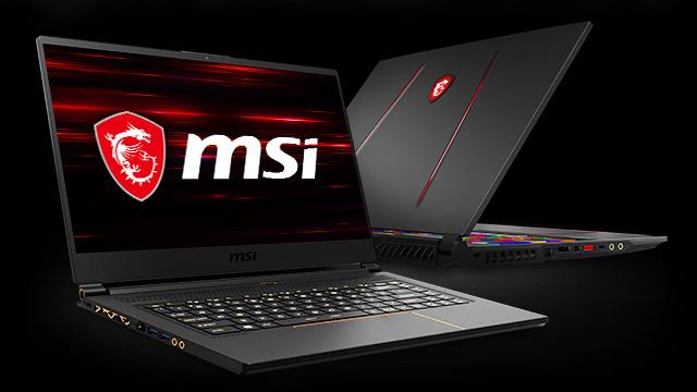 MSI Geforce RTX Laptops.