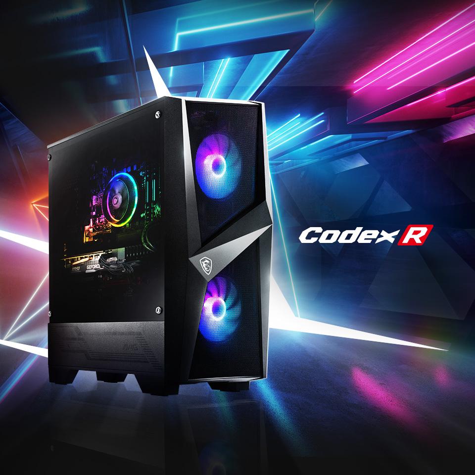 Codex R Series Gaming Desktop.
