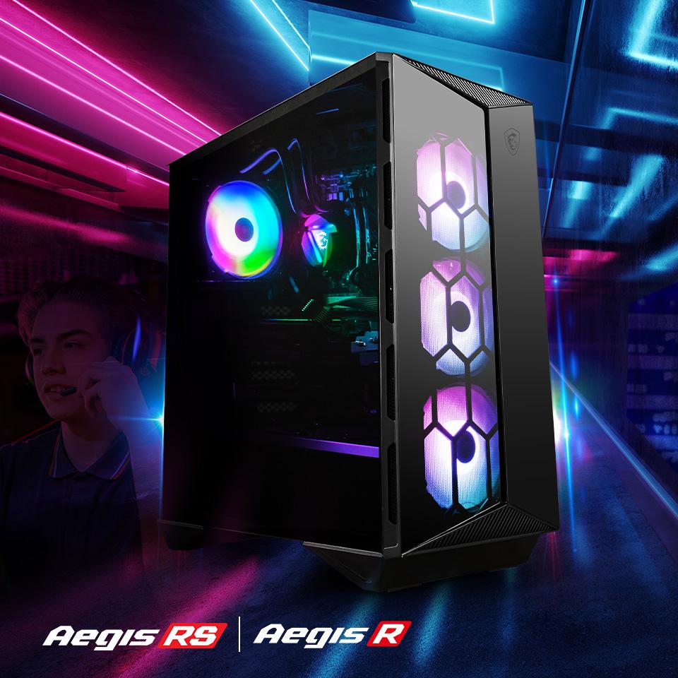 Aegis RS / Aegis R Series Gaming Desktops.
